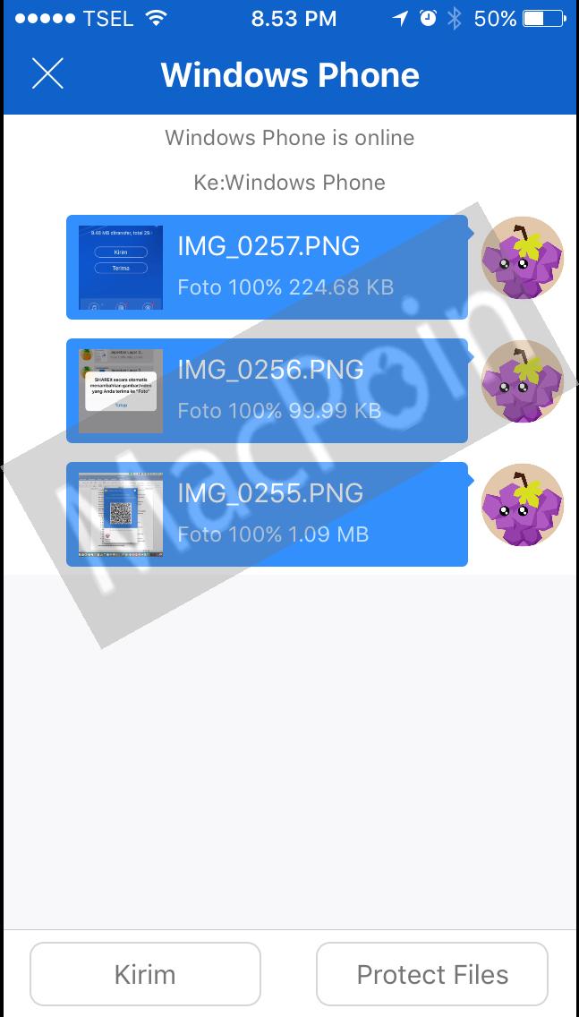 Cara Kirim dan Transfer File Dari iOS ke Windows Phone