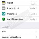 Cara Mudah Logout atau Sign Out iCloud di iPhone