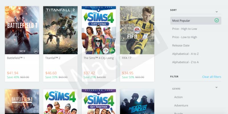 Diskon Game Origin Super Sale Hingga 75% Lebih Murah