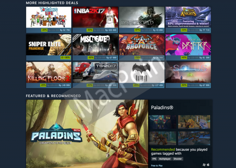 Ayo Beli Game Steam Murah di Steam Sale Autumn 2016