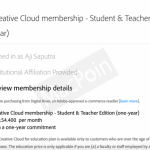Cara Beli Produk Adobe Murah dengan Lisensi Student