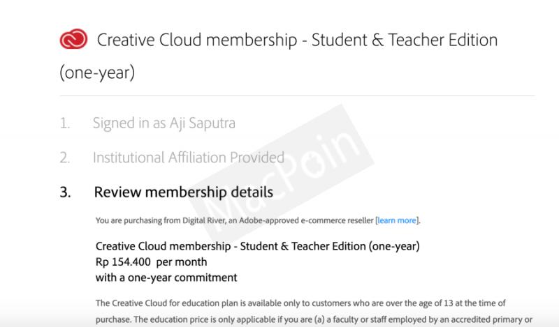 Cara Beli Produk Adobe Murah dengan Lisensi Student