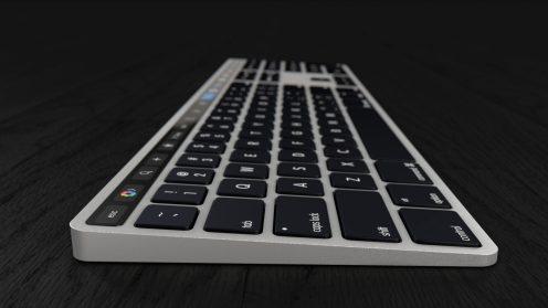 Apple Akan Rilis Magic Keyboard dengan Touch Bar?