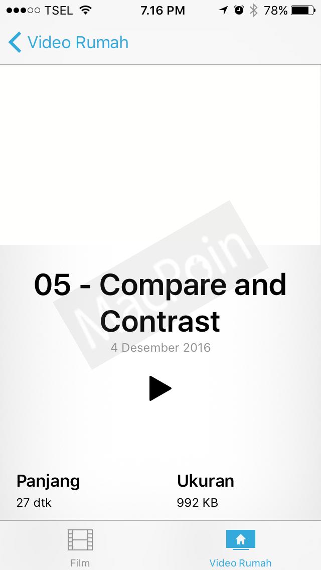 Cara Memasukkan Video dari Komputer ke iPhone