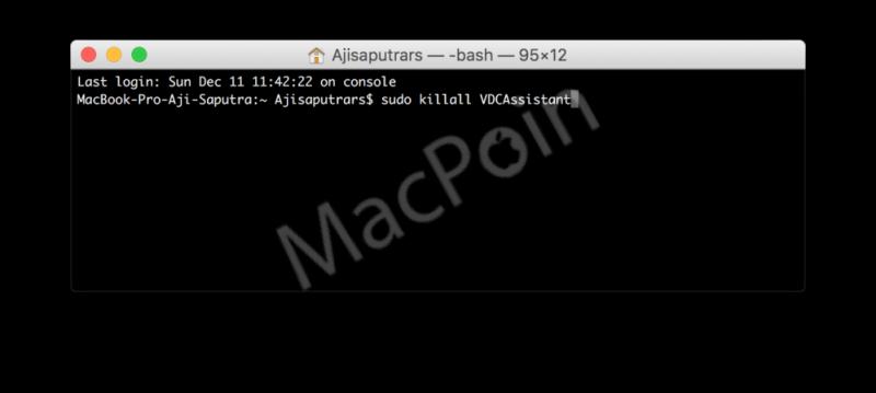 Memperbaiki Masalah Kamera Mac setelah Update macOS