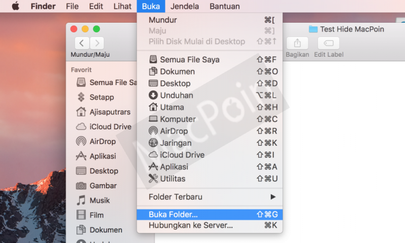 Cara Hidden File dan Folder di Mac dan MacBook