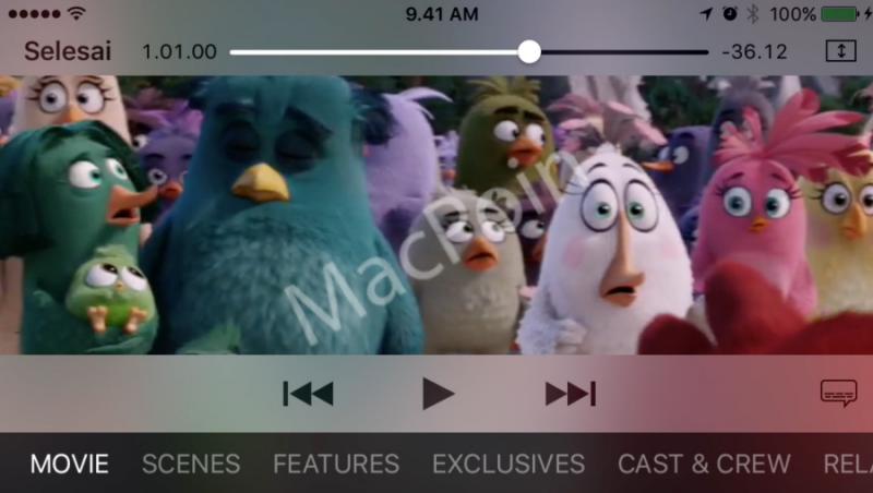 Cara Menampilkan Subtitle Film di iPhone dan iPad