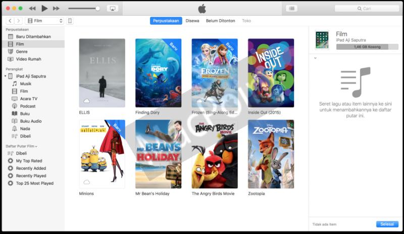 Cara Memasukkan Video Film ke iPhone dan iPad
