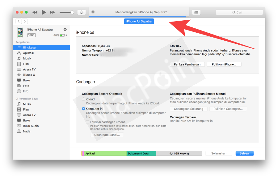 Tutorial Mudah Cara Backup Data iPhone dan iPad