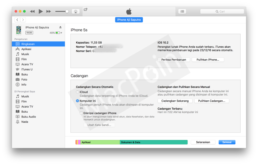 Tutorial Mudah Cara Backup Data iPhone dan iPad