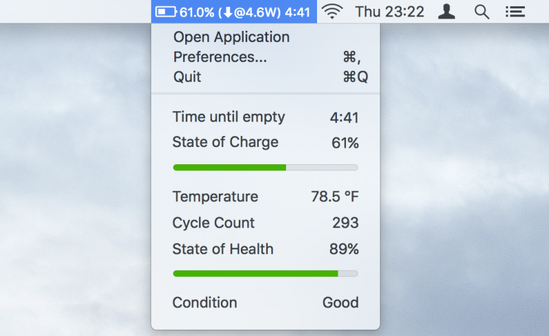 Cara Menampilkan Time Remaining Battery Mac di macOS