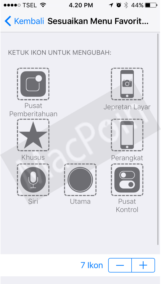 Cara Screenshot iPhone Tanpa Tombol Home dan Power