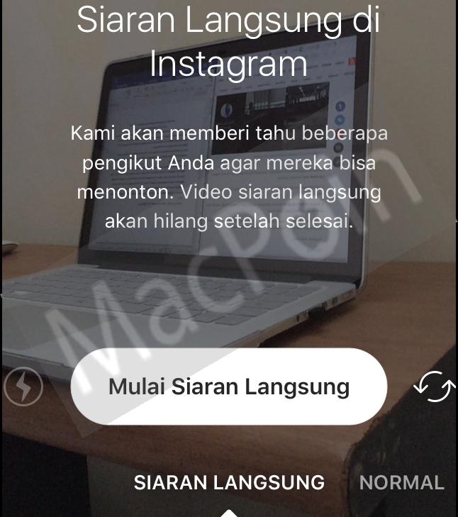 Cara Siaran Langsung Menggunakan Instagram Live Video
