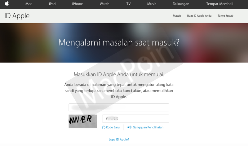 Cara Mengatasi Lupa Password Apple ID di iPhone