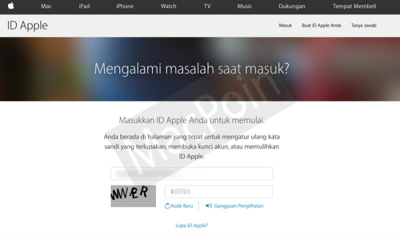 Cara Mengatasi Lupa Password Apple ID di iPhone