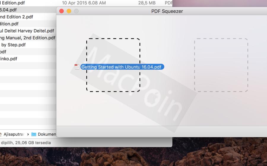 Cara Memperkecil Ukuran PDF dengan PDF Squeezer