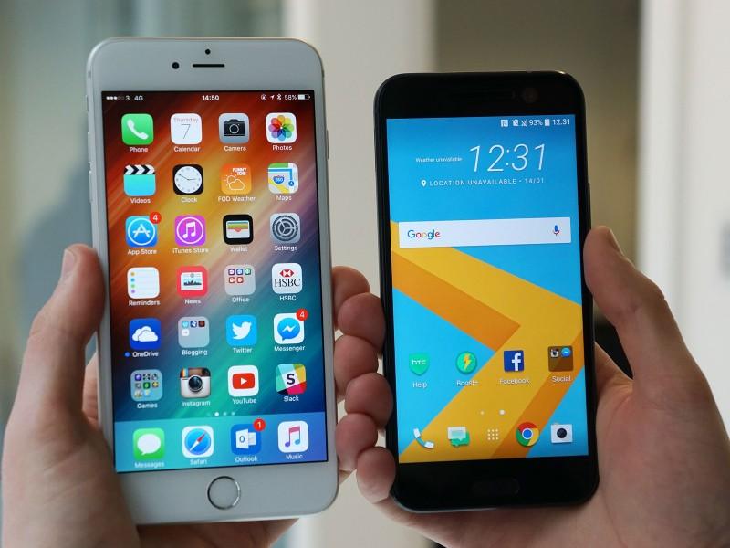Pangsa Pasar iPhone Naik, Namun Android Masih Mendominasi