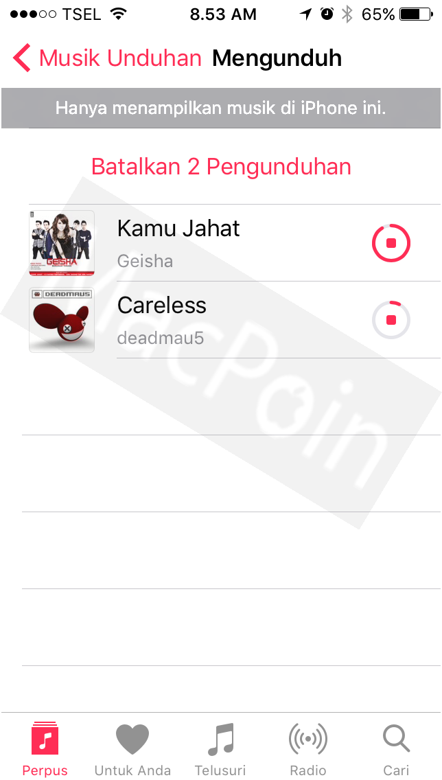 Cara Download Lagu Gratis ke iPhone dan iPad