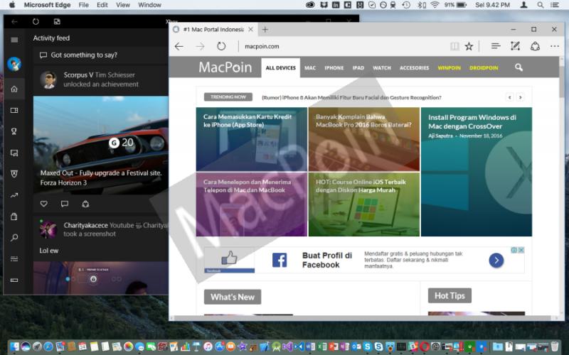 Cara Menggunakan Coherence Windows di Parallels Mac