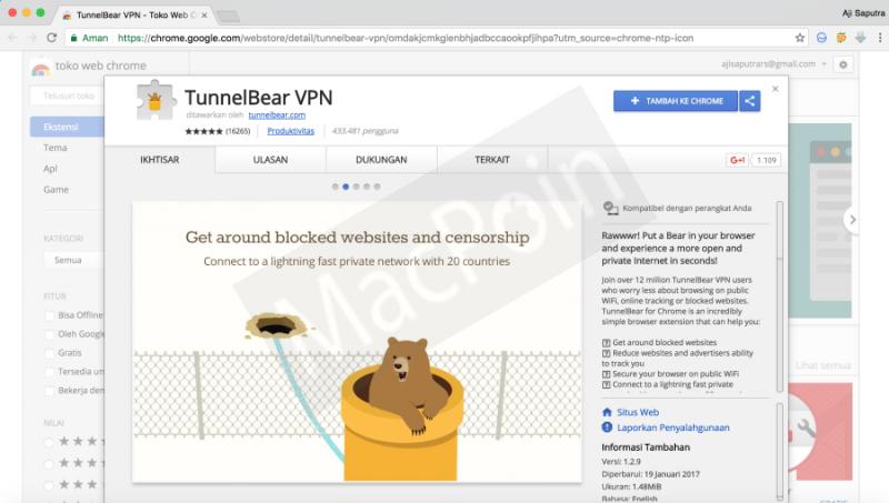 Cara Membuka Blokir Situs Internet di Chrome PC dan Mac