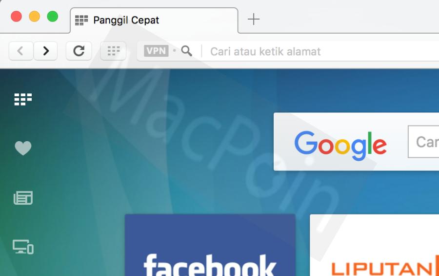 Tutorial Mudah Mengaktifkan VPN Gratis Opera + Gambar