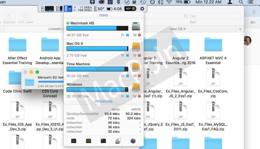 Cara Mengetahui Aktivitas Disk di Mac dan MacBook