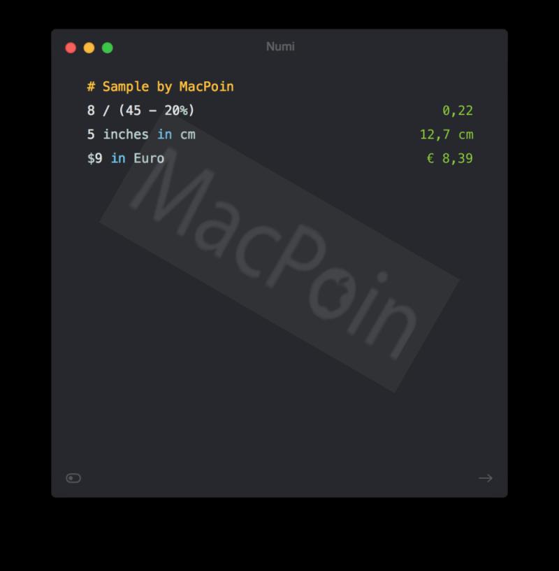 Review Numi: Kalkulator Cerdas dan Unik Untuk Mac