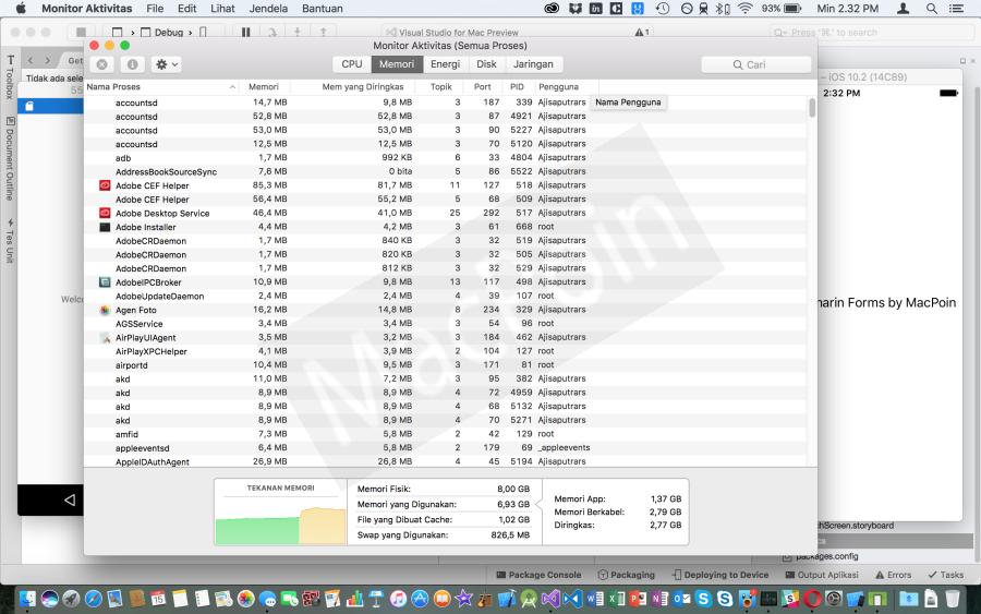 Review Kinerja dan Performa Xamarin di Visual Studio