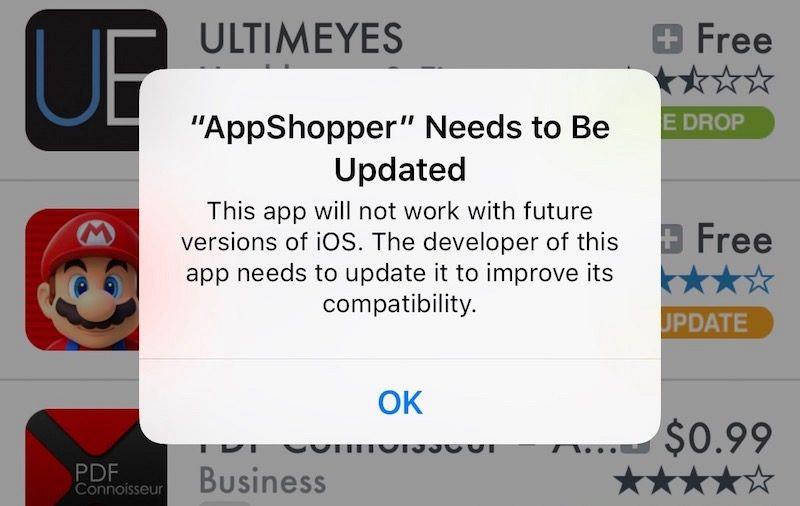 Peringatan iOS 10.3, Aplikasi 32-Bit Tidak Akan Kompatibel Lagi?