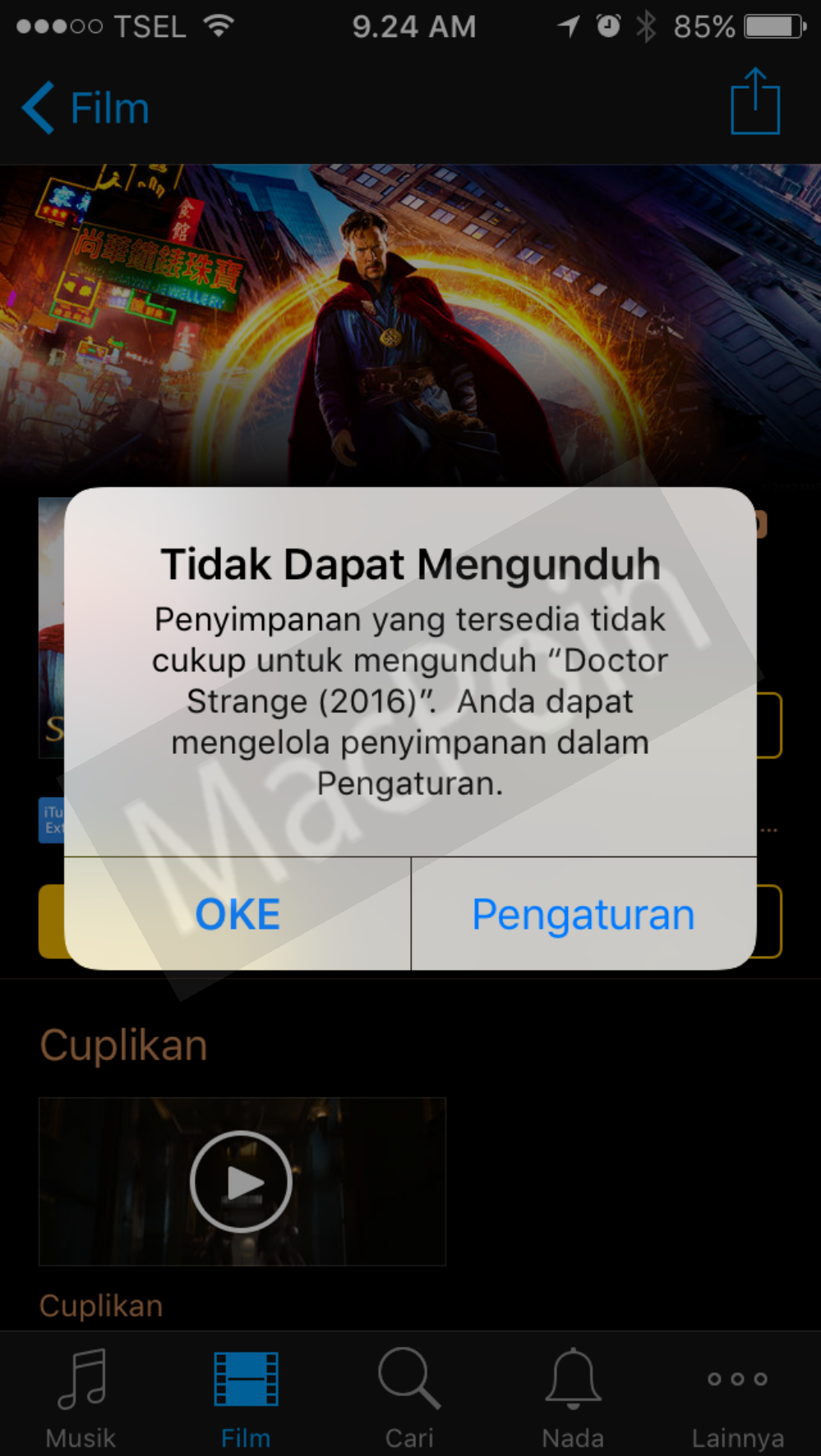 Tutorial Cara Hapus File Other di iPhone dan iPad