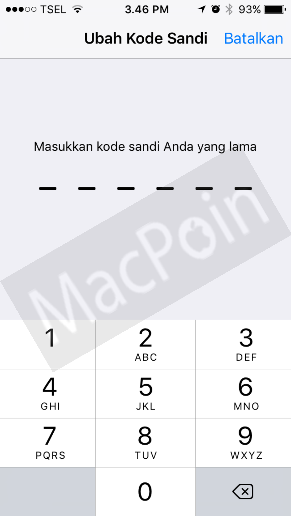 Cara Reset Passcode atau Password iPhone dan iPad