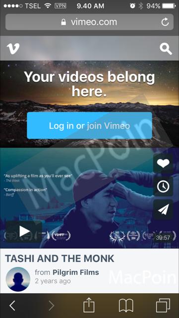 Cara Membuka Blokir Vimeo di iPhone dan iPad