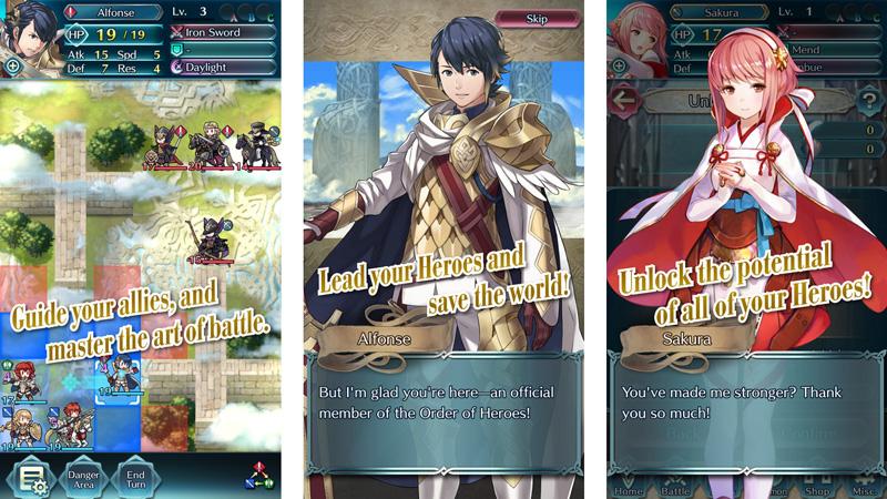 Nintendo Rilis Game Baru Fire Emblem Heroes di iOS