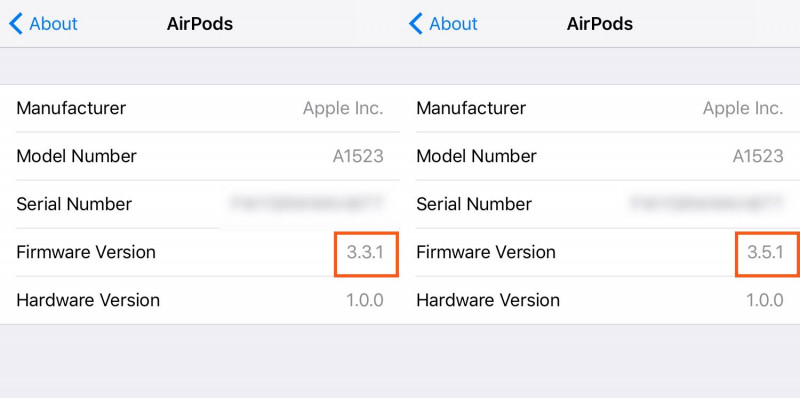 Apple AirPods Menerima Update Firmware versi Baru 3.5.1