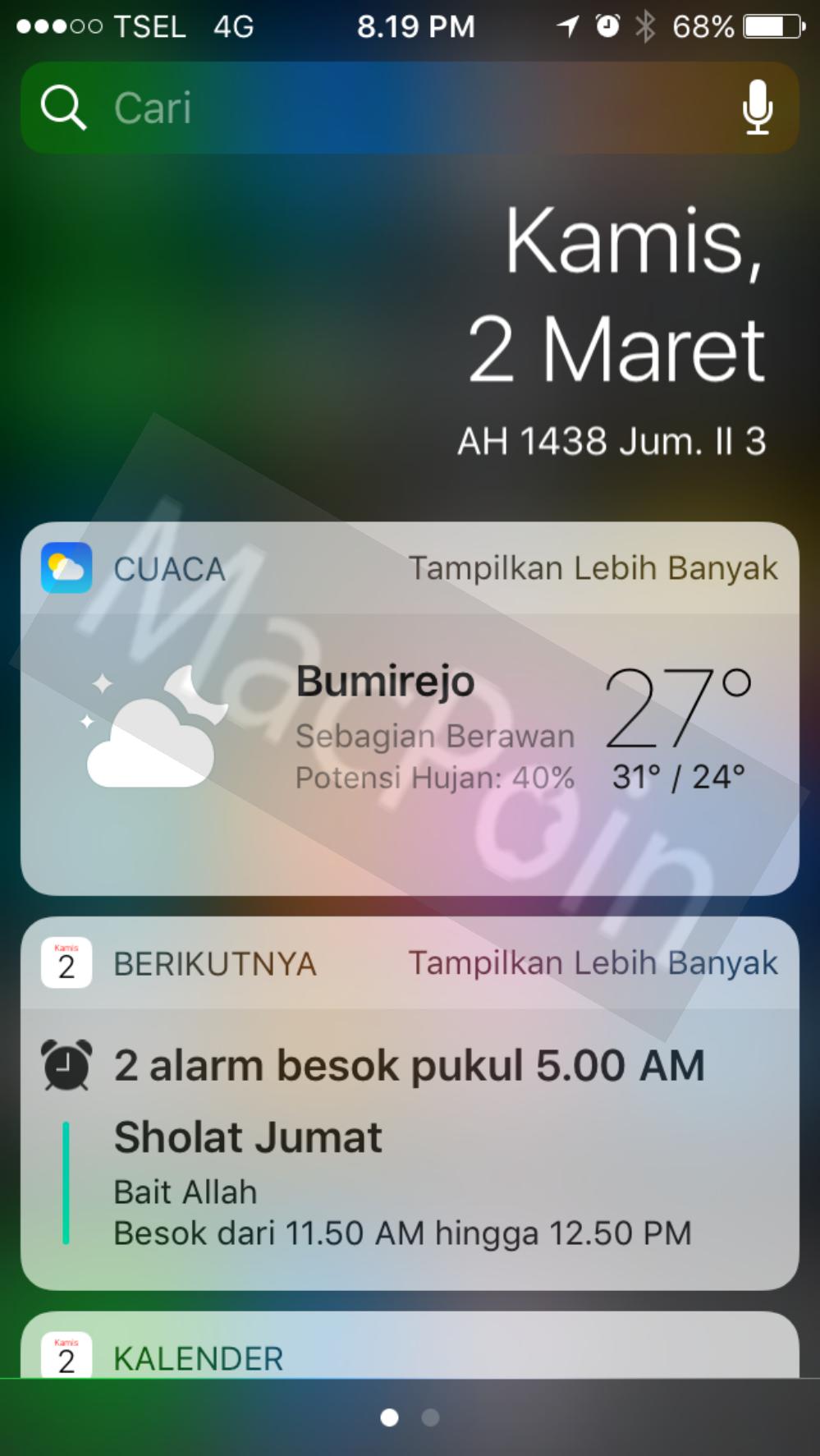 Cara Menambah Widget iOS di iPhone dan iPad