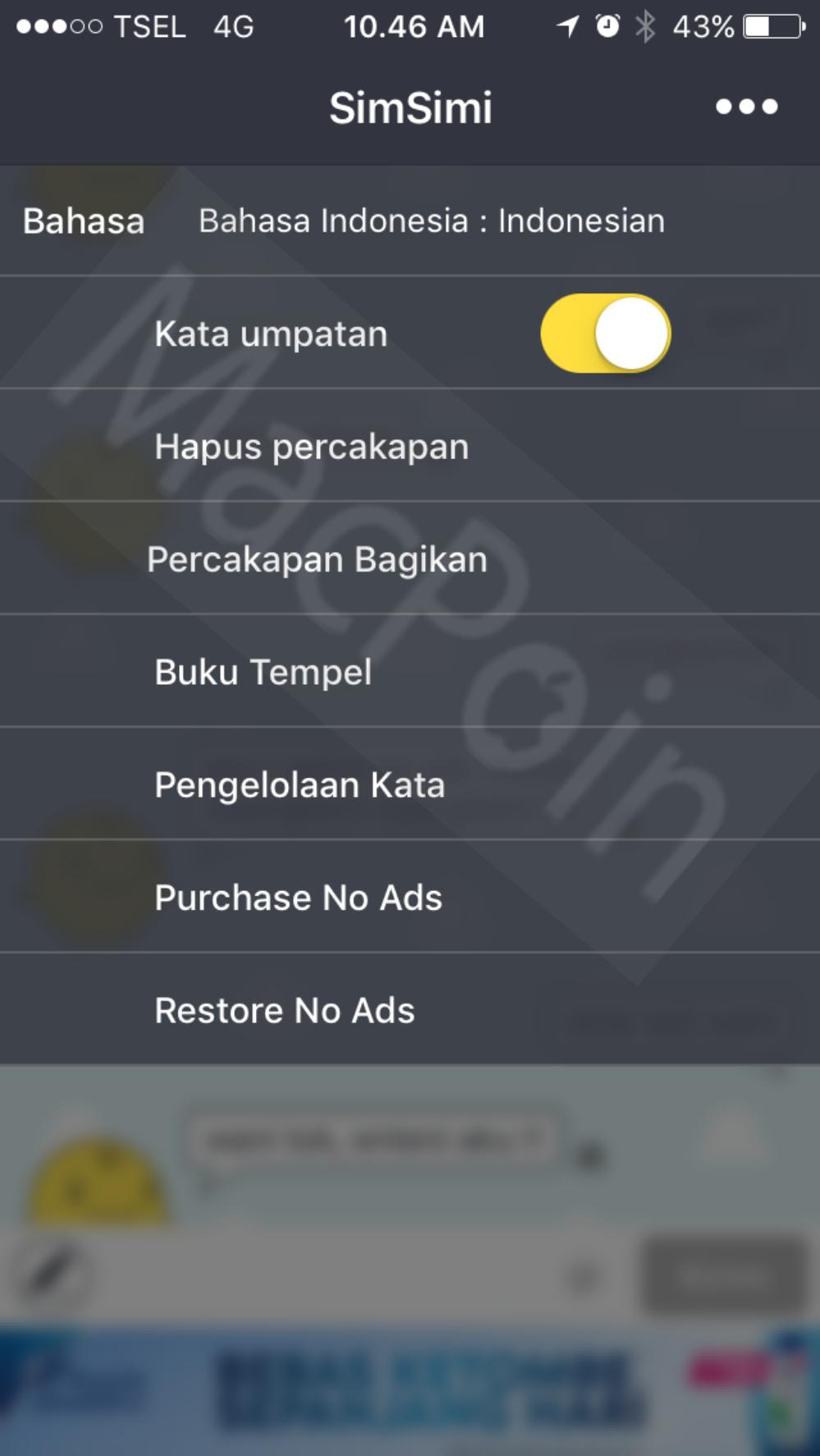 Cara Aman Menggunakan SimSimi Bahasa Indonesia