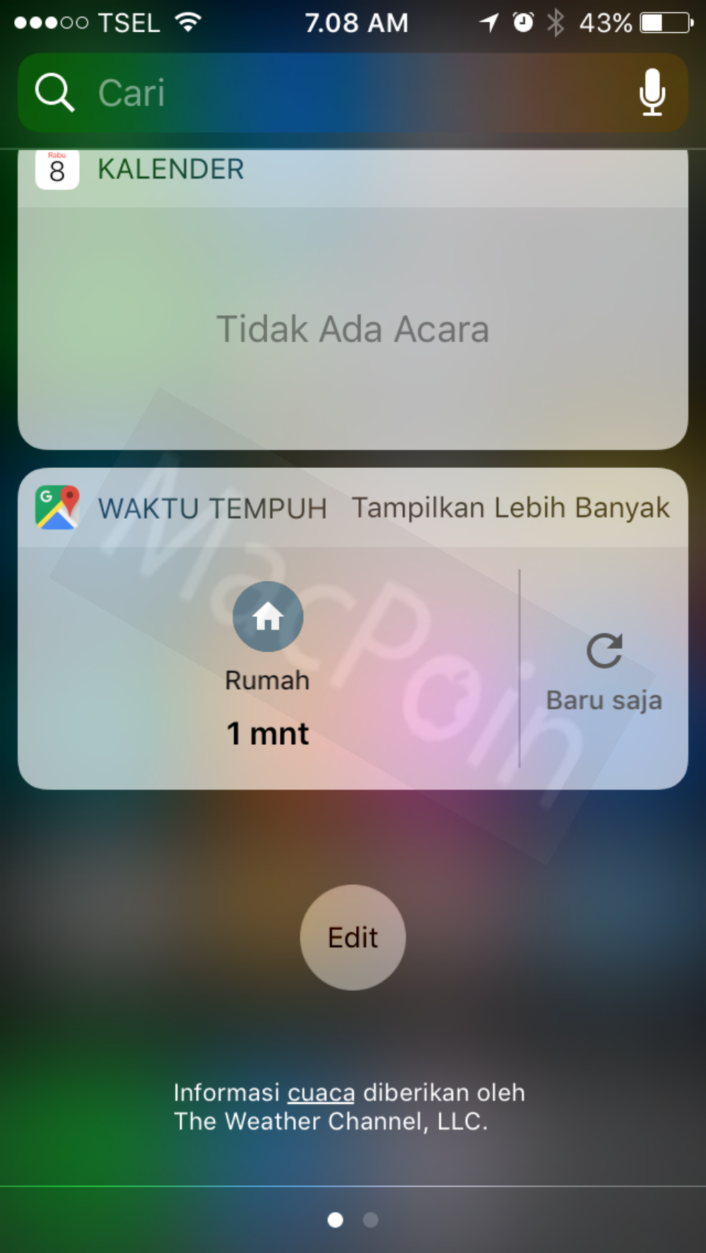 Cara Menghapus Widget iOS di iPhone dan iPad