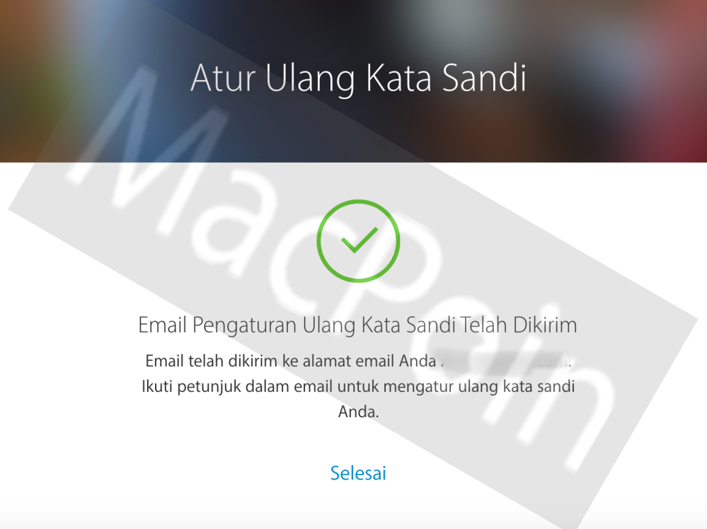 Cara Mengatasi Masalah Akun iCloud Lupa Password