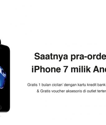 Daftar Harga dan Cara Pre-Order iPhone 7 di iBox