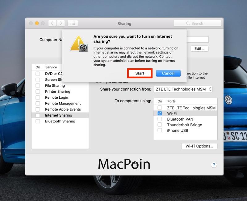 Cara Membuat Hotspot di MacBook dengan Mudah