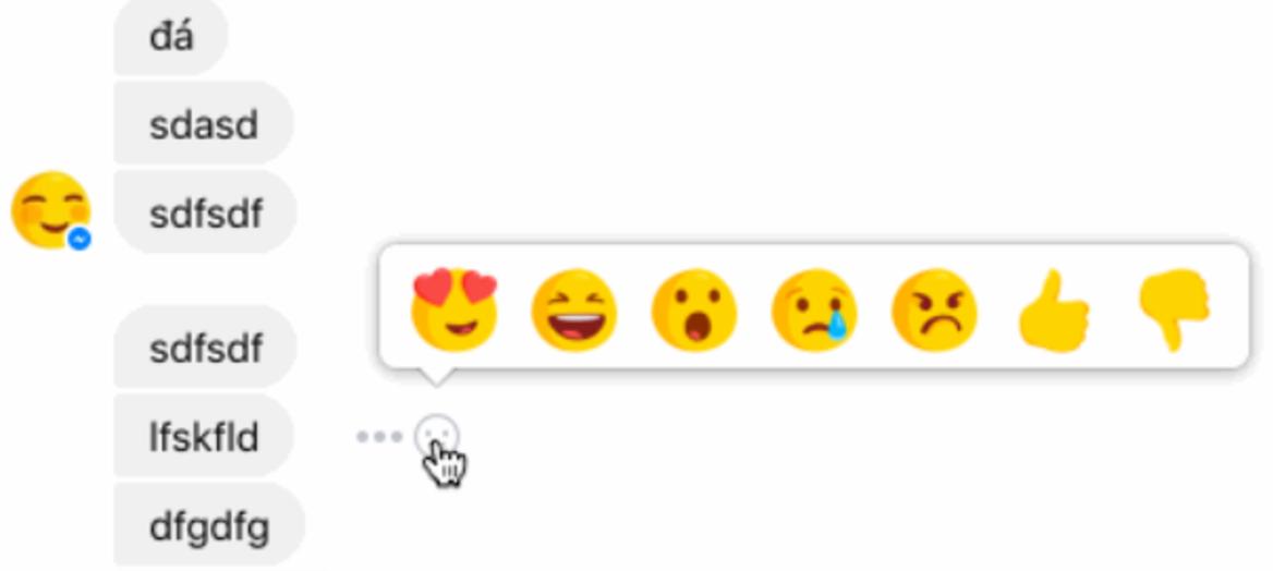 Fitur Reaction dan Dislike Akan Hadir di Messenger