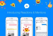 Facebook Rilis Fitur Baru Reactions dan Mentions Messenger