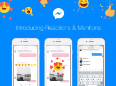Facebook Rilis Fitur Baru Reactions dan Mentions Messenger