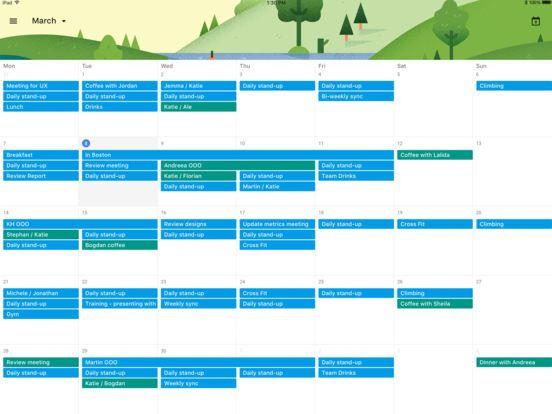 Akhirnya Google Merilis Aplikasi Kalender ke iPad