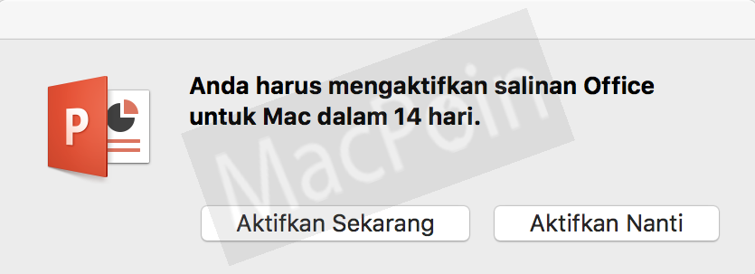 Cara Mengatasi Masalah Aktivasi Office 2016 di Mac