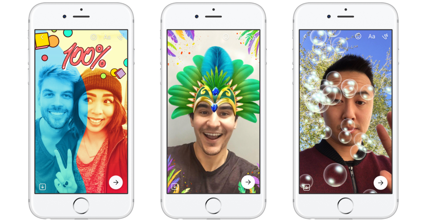 Facebook Rilis Fitur Messenger Day Mirip Snapchat