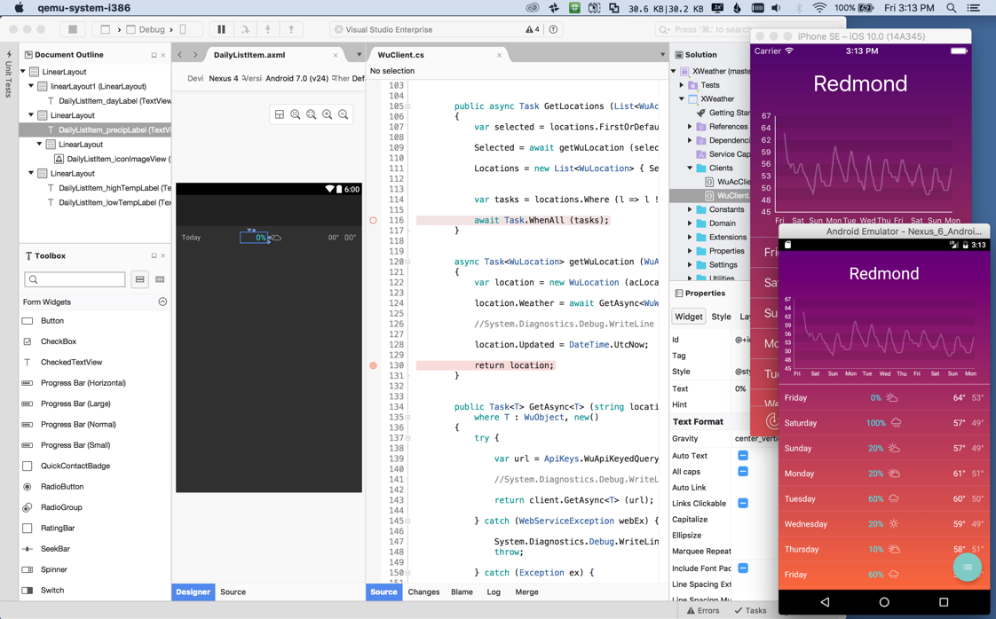 How to update the frameworks in visual studio for mac download