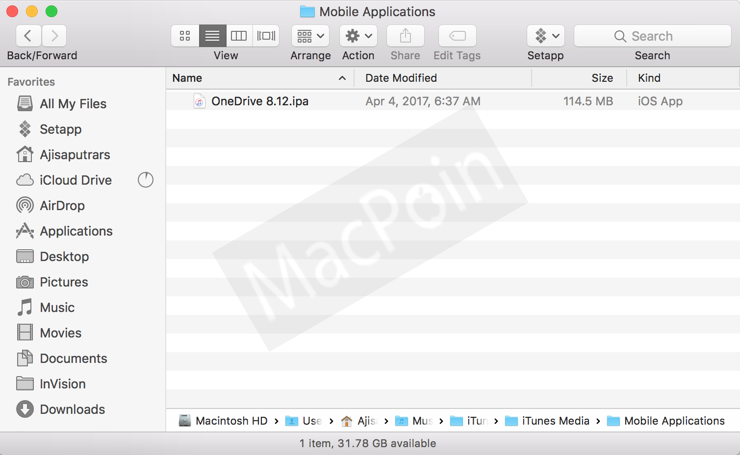 how to download an ipa file in iphone