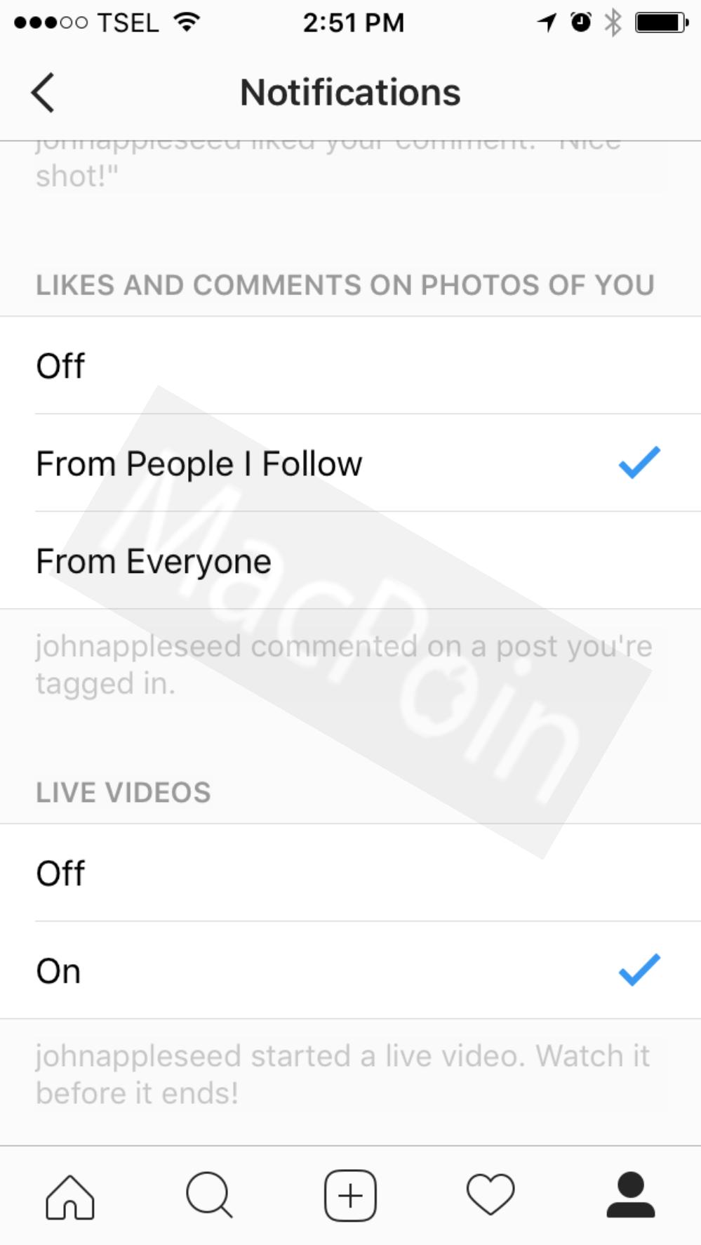 Cara Mematikan Notifikasi Siaran Live Video Instagram