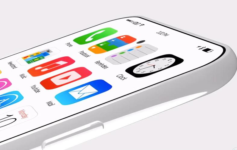 Video Konsep iPhone 8 dengan Kamera Depan dan Touch ID di Layar